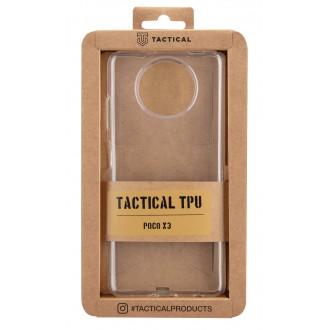 Tactical TPU Kryt pro Poco X3 Transparent