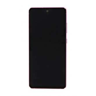 LCD display + Dotyk Samsung G780F Galaxy S20 FE Cloud Lavender (Service Pack)