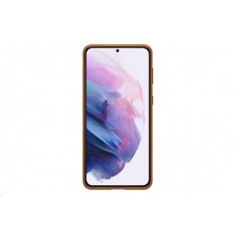 Samsung Kožený Kryt pro Galaxy S21+ Brown (EF-VG996LAE)