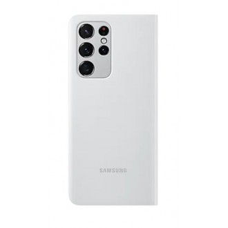EF-ZG998CJE Samsung Clear View Cover pro Galaxy S21 Ultra Light Gray