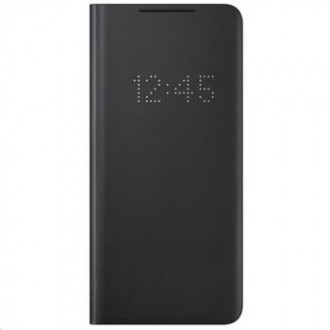 EF-NG998PBE Samsung LED View Cover pro Galaxy S21 Ultra Black