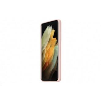 Samsung Silikonový Kryt pro Galaxy S21 Ultra Pink (EF-PG998TPE)