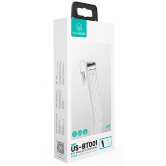 USAMS BT1 Wireless Headset White