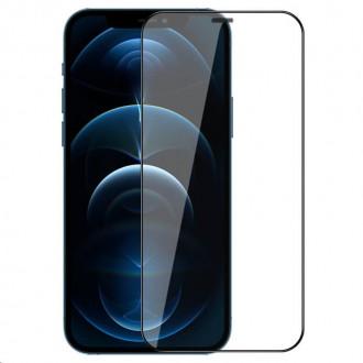 illkin 2v1 HD Full Screen Tvrzené Sklo pro iPhone 12 Pro 6.1