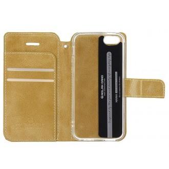 Molan Cano Issue Book Pouzdro pro Samsung Galaxy A72 Gold