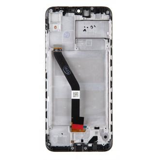 Huawei  Y6s LCD Display + Dotyková Deska + Přední Kryt Black