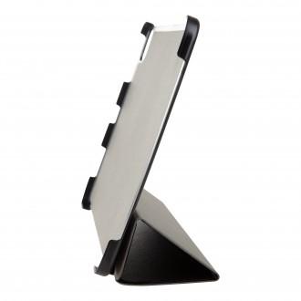 Tactical Book Tri Fold Pouzdro pro Lenovo Tab M10 FHD Plus 10, 3 Black