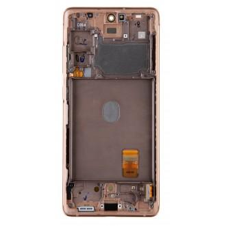 LCD display + Dotyk Samsung G780F Galaxy S20 FE Cloud Orange(Service Pack)