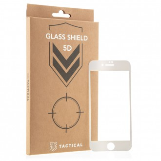 Tactical Glass Shield 5D pro iPhone 7/8/SE2020 White