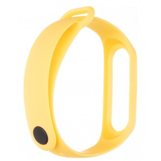 Tactical 521 Silikonový Řemínek pro Xiaomi Mi Band 3/4 Yellow