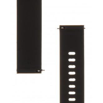 Tactical 572 Silikonový Řemínek 18mm Black