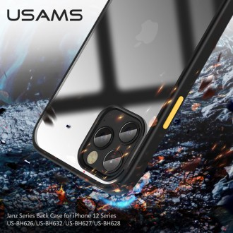 USAMS US-BH626 PC+TPU Kryt pro iPhone 12 Mini Blue