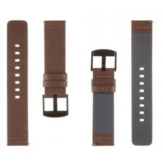 Tactical 311 Kožený Řemínek pro Samsung Galaxy Watch Active Brown