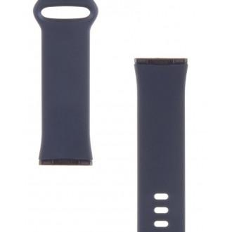Tactical 721 Silikonový Řemínek pro Fitbit Versa 3 Dark Blue