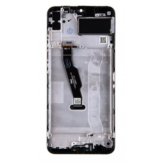 Huawei  Y6p LCD Display + Dotyková Deska + Přední Kryt Phantom Purple