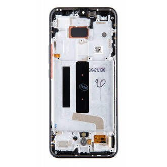 LCD Display + Dotyková Deska + Přední Kryt pro Xiaomi Mi 10 Lite Gray (Service Pack)