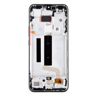 LCD Display + Dotyková Deska + Přední Kryt pro Xiaomi Mi 10 Lite Cosmic Gray