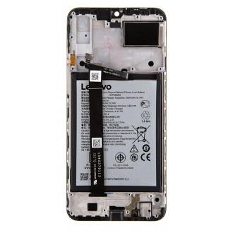 Lenovo K10 Note LCD Display + Dotyková Deska + Přední Kryt + Baterie Black (SWAP Service Pack)