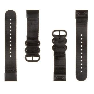 Tactical 671 Nylonový Řemínek pro Garmin Fenix 5/6 QuickFit 22mm Black