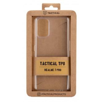 Tactical TPU Kryt pro Realme 7 Pro Transparent