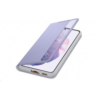 Samsung Clear View Cover pro Galaxy S21 Violet (EF-ZG991CVE)