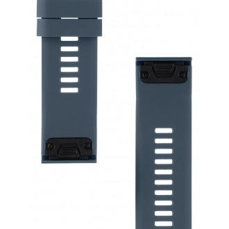 Tactical 683 Silikonový Řemínek pro Garmin Fenix 5X/6X QuickFit 26mm Rock Cyan