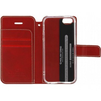 Molan Cano Issue Book Pouzdro pro OnePlus 9 Red