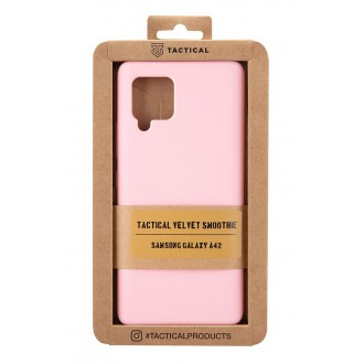 Tactical Velvet Smoothie Kryt pro Samsung Galaxy A42 Pink Panther