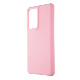 Tactical Velvet Smoothie Kryt pro Samsung Galaxy S21 Ultra Pink Panther