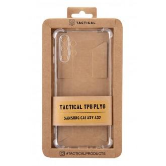 Tactical TPU Plyo Kryt pro Samsung Galaxy A32  Transparent