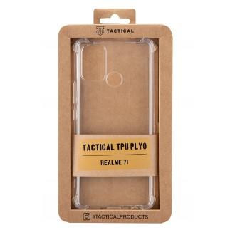 Tactical TPU Plyo Kryt pro Realme 7i Transparent