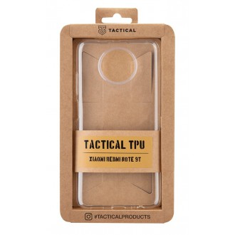 Tactical TPU Kryt pro Xiaomi Redmi Note 9T Transparent