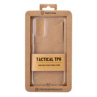 Tactical TPU Kryt pro Vivo Y11s/Y12s/Y20a/Y20s Transparent
