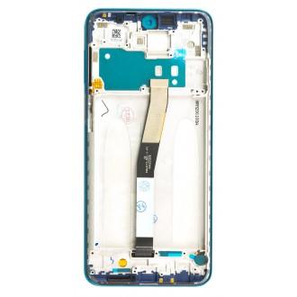 LCD Display + Dotyková Deska + Přední Kryt pro Xiaomi Redmi Note 9S Aurora Blue