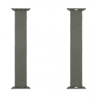 Tactical 771 Pletený Převlékací Řemínek pro iWatch 1/2/3/4/5/6/SE 42/44mm vel. L Green