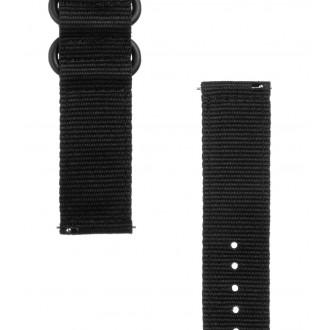Tactical 406 Nylon Řemínek 22mm Black
