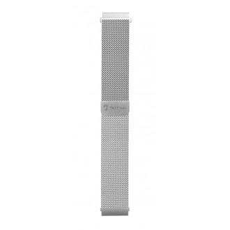 Tactical 699 Loop Magnetický Kovový Řemínek 22mm Silver