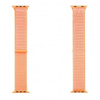 Tactical 543 Látkový Řemínek pro iWatch 1, 2, 3, 4, 5 42-44mm Orange