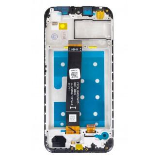 Honor 8S 2020 LCD Display + Dotyková Deska + Přední Kryt Navy Blue