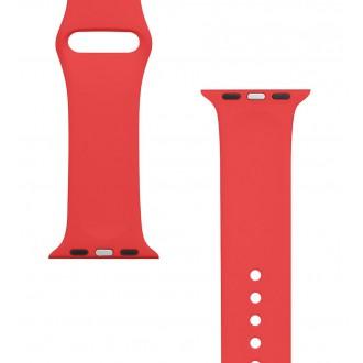 Tactical 464 Silikonový Řemínek pro iWatch 1/2/3 38mm Red