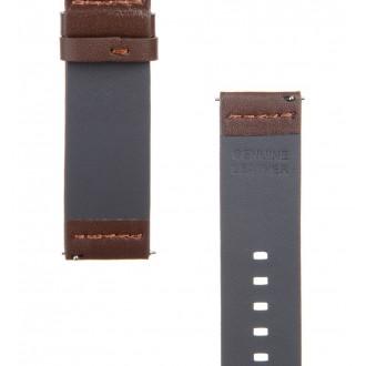 Tactical 308 Kožený Řemínek pro Huawei Watch GT Brown