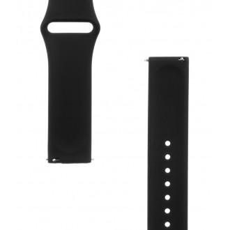Tactical 432 Silikonový Řemínek pro Garmin Vivoactive 3 Black