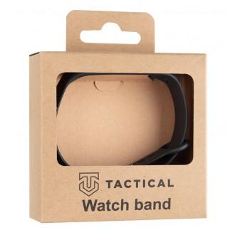 Tactical 513 Silikonový Řemínek pro Xiaomi Mi Band 3/4 Black