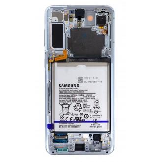 LCD display + Dotyk Samsung SM-G991 Galaxy S21+ Phantom Silver (Service Pack)