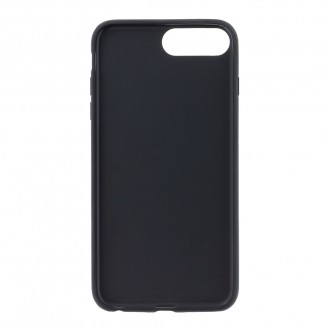 Karl Lagerfeld Karl and Choupette Hard Case Black pro iPhone 7/8 Plus (KLHCI8LKICKC)