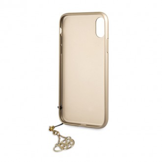 Guess Charms Hard Case 4G Grey pro iPhone XR (GUHCI61GF4GGR)
