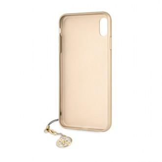Guess Charms Hard Case 4G Grey pro iPhone XS Max (GUHCI65GF4GGR)