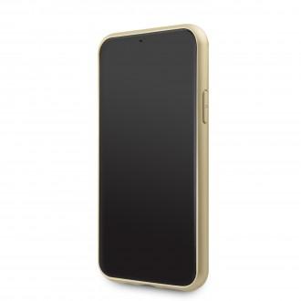 Guess 4G Zadní Kryt pro iPhone 11 Pro Brown (GUHCN58G4GB)