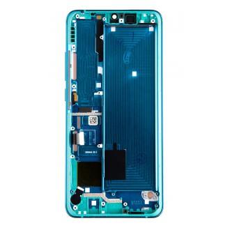 LCD Display + Dotyková Deska + Přední Kryt pro Xiaomi Mi Note 10 Green