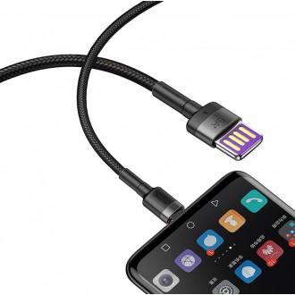 Baseus CATKLF-PG1 Cafule USB-C Double Sided USB Kabel 40W 1m Gray/Black